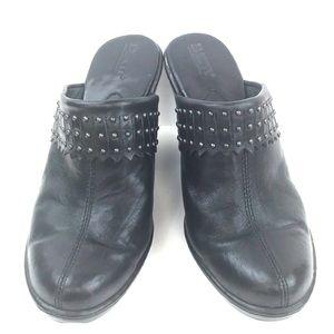 Born black Clogs size 8 UK 39